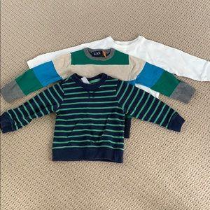 Bundle 2 Sweaters and 1 long sleeve shirt
